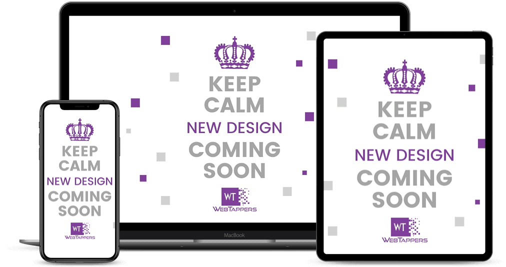 Keep Calm website shown on Multiple Devices