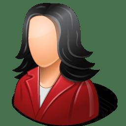 Female Cartoon Icon